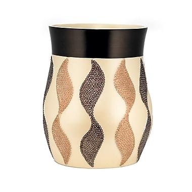 Popular Bath Products Shimmer Waste Basket