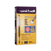 uni-ball® Vision™ Needle Rollerball Pens, Fine Point, Black, Dozen (1734903)