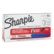 Sharpie® Retractable Permanent Markers, Ultra Fine Tip, Blue, 12/pk (1735792)