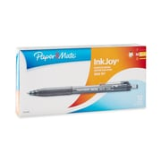 Paper Mate InkJoy 300RT Retractable Ballpoint Pens, Medium Point (1.0mm), Black, Box of 12