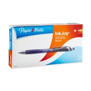 Paper Mate® InkJoy® 550RT Retractable Ballpoint Pens, Medium Point, Black, Box of 12 (1951345)