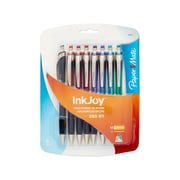 Paper Mate® InkJoy® 550RT Retractable Ballpoint Pens, Medium Point, Assorted, 8/pk (1951280)