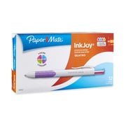 Paper Mate® InkJoy® Quatro Retractable Ballpoint Pens, Medium Point, Assorted, Box of 12