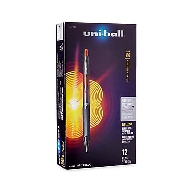 uni-ball® 207 BLX Retractable Gel-Ink Pens, Medium, Red, 12/pk (1837935)