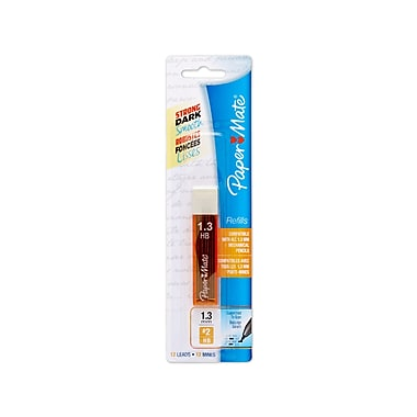Paper Mate® Mates Mechanical Pencil Lead Refills, 1.3 mm, 12/pk (1868816)