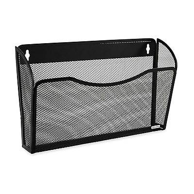 Rolodex® Expressions™ Mesh Wall File, Large Letter-Size, Black
