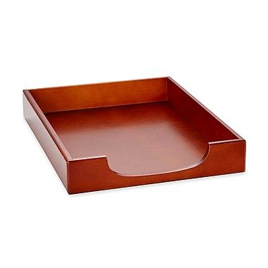 Wood Tones™ Mahogany-Finish Front-Load Letter Tray