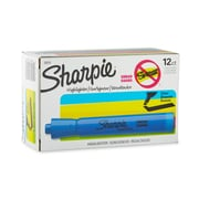 Sharpie® Accent® Highlighter, Chisel Tip, Blue, 12/pk (25010)