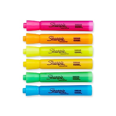 Sharpie® Accent® Highlighter, Chisel Tip, Assorted, 12/pk (25053)