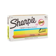 Sharpie® Accent Pocket Style Highlighter, Chisel Tip, Fluorescent Orange, 12/pk (27006)
