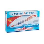 Paper Mate® Liquid Flair® Porous Point Pens, Extra Fine Point, Red, Dozen
