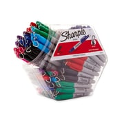 Sharpie® Mini Fine Point Permanent Markers, Assorted, 72/pk (35111)