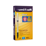 uni-ball® Deluxe Rollerball Pen, Micro Point, Black, 12/pk (60025)