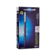 uni-ball® Roller Pen, Fine Point, Black, 12/pk (60101)