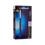 uni-ball® Stick Roller Ball Pen, 0.7 mm Fine, Green, 12/pk (60104)