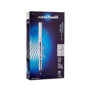 uni-ball® Vision Rollerball Pen, Fine Point, Black, 12/pk (60126)