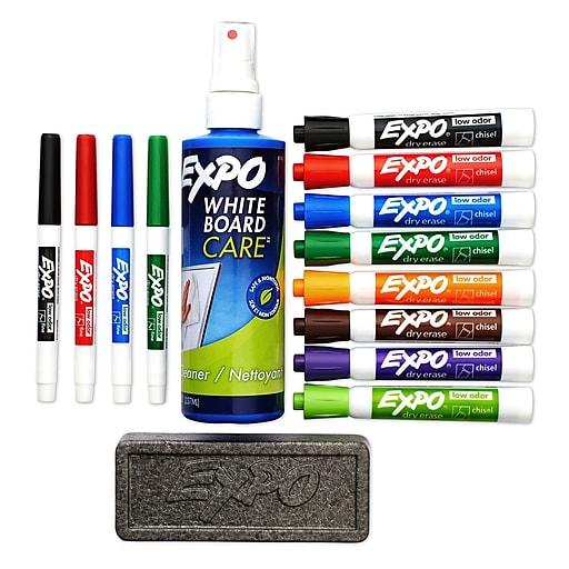 Expo Dry Erase Kit Low Odor 80054 Staples