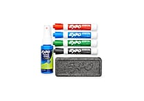 Expo® Dry-Erase Starter Set, Low Odor (80653)