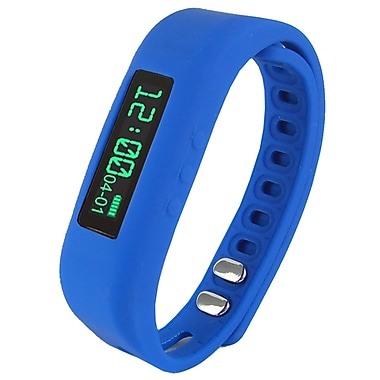Supersonic PowerX Fitness/Smart Band, Blue, 0.91