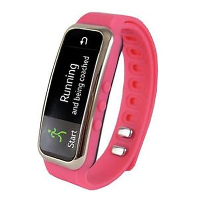 Supersonic SC-61SW-PK PowerX Fitness/Smart Band, Pink, 0.91