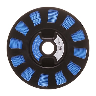 Robox® SmartReel ABS 3D Printer Filament, 240m, Cornflower Blue (RBX-ABS-BL824)