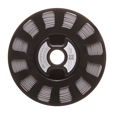 Robox® SmartReel ABS 3D Printer Filament, Designer Grey (RBX-ABS-FS390)
