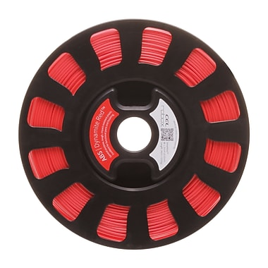 Robox® SmartReel ABS 3D Printer Filament, 240m, 0.85 kg, Dynamite Red (RBX-ABS-RD537)