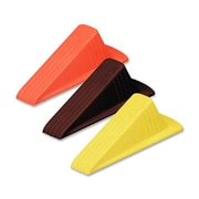"The Master Caster Company Giant Foot Doorstop, 3-1/2"" x 6-3/4"" x 2"", Safety Orange"