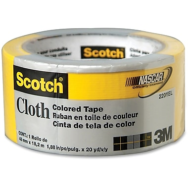Scotch – Ruban à conduits coloré à motifs, jaune