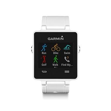 Garmin – Montre GPS connectée vivoactive™ sport, blanc