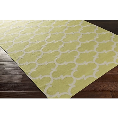 Artistic Weavers Vogue Lola Yellow/Ivory Area Rug; 8' x 10'