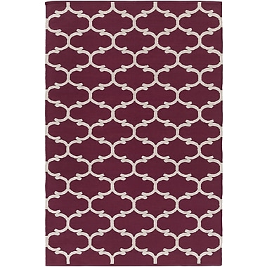 Artistic Weavers Vogue Lola Purple/Ivory Area Rug; 8' x 10'