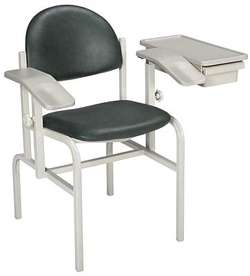 Brewer Blood Drawing Chair; Deep Teal