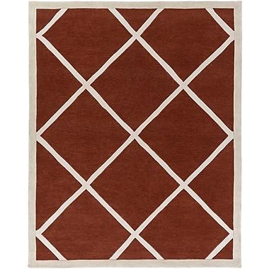 Artistic Weavers Holden Layla Rust/Ivory Area Rug; 7'6'' x 9'6''