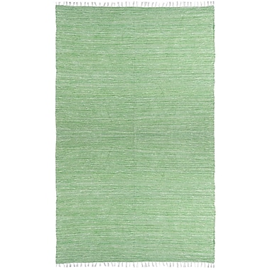 St. Croix Complex Green Area Rug; 5' x 8'