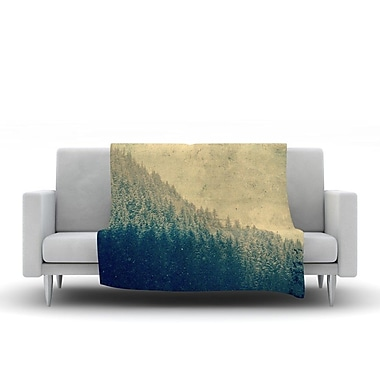 KESS InHouse Any Road Will Do by Robin Dickinson Fleece Throw Blanket; 80'' H x 60'' W x 1'' D