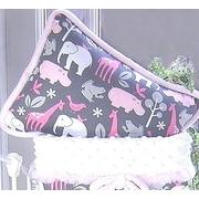 Blueberrie Kids Animal Cookies Cotton Throw Pillow