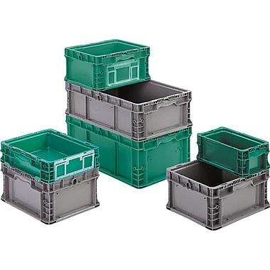 Orbis – Contenants pour porte-étiquettes StakpakMD Plus 4845, (AIAG) 30 x 36 (po) : 1/12, dégagement de 4,5 po, vert, 3/paquet