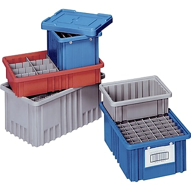 Lewis Bins+ Stack-N-Nest® Plexton Containers, 10.8