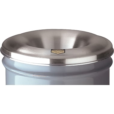 Justrite® Cease-Fire® Ashtray Aluminum Head for 4.5 to 6 Gal Receptacles