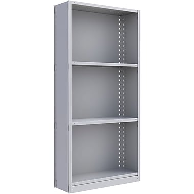 Metalware RK215 Boltless Shelving Unit, 4-Shelves, 36