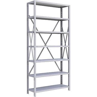 Metalware RK219 Boltless Shelving Unit, 7-Shelves, 36