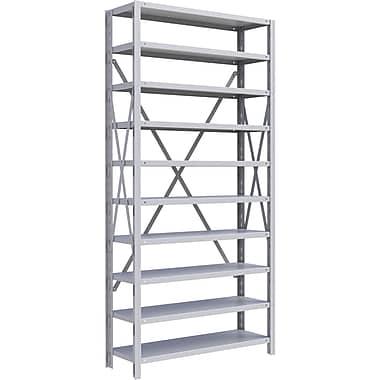 Metalware RK229 Boltless Shelving Unit, 10-Shelves, 36