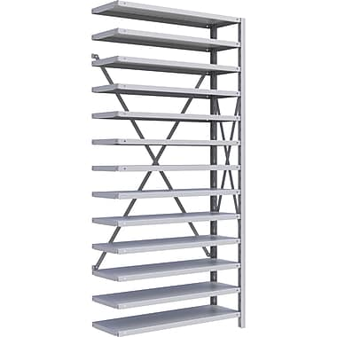 Metalware RK244 Boltless Shelving Unit, 13-Shelves, 36
