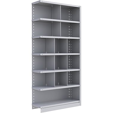 Metalware RK258 Boltless Shelving Unit, 7-Shelves, 36