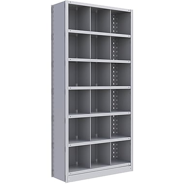 Metalware RK269 Boltless Shelving Unit, 7-Shelves, 36