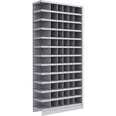 Metalware RK270 Boltless Shelving Unit, 13-Shelves, 36
