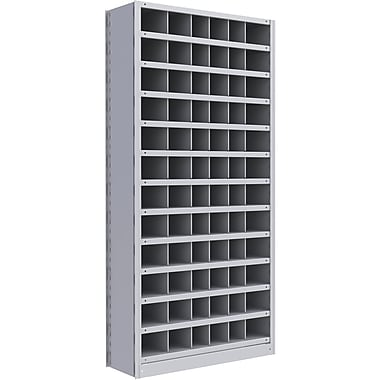 Metalware RK271 Boltless Shelving Unit, 13-Shelves, 36