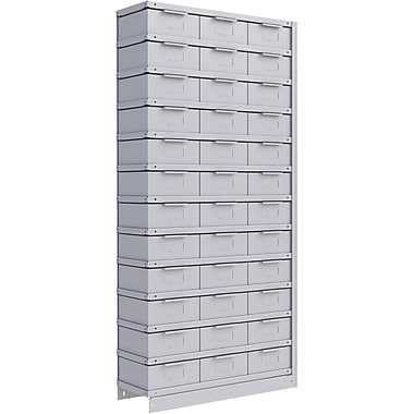 Metalware RK983 Boltless Shelving Unit, 13-Shelves, 36