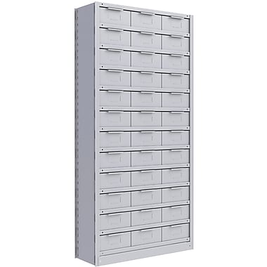 Metalware RK277 Boltless Shelving Unit, 13-Shelves, 36